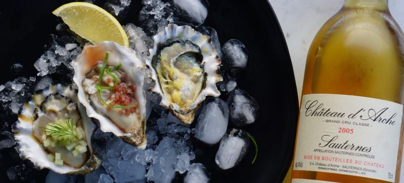Photo for: Oyster & White Wine