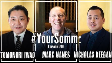 Photo for: YourSomms E06: Meet Marc Nanes, Tomonori Iwao, and Nicholas Keegan at Kenzo Estate Winery